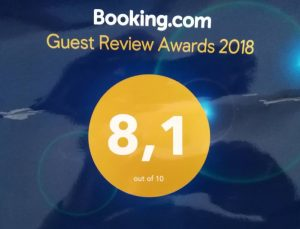Booking.com rating 2018